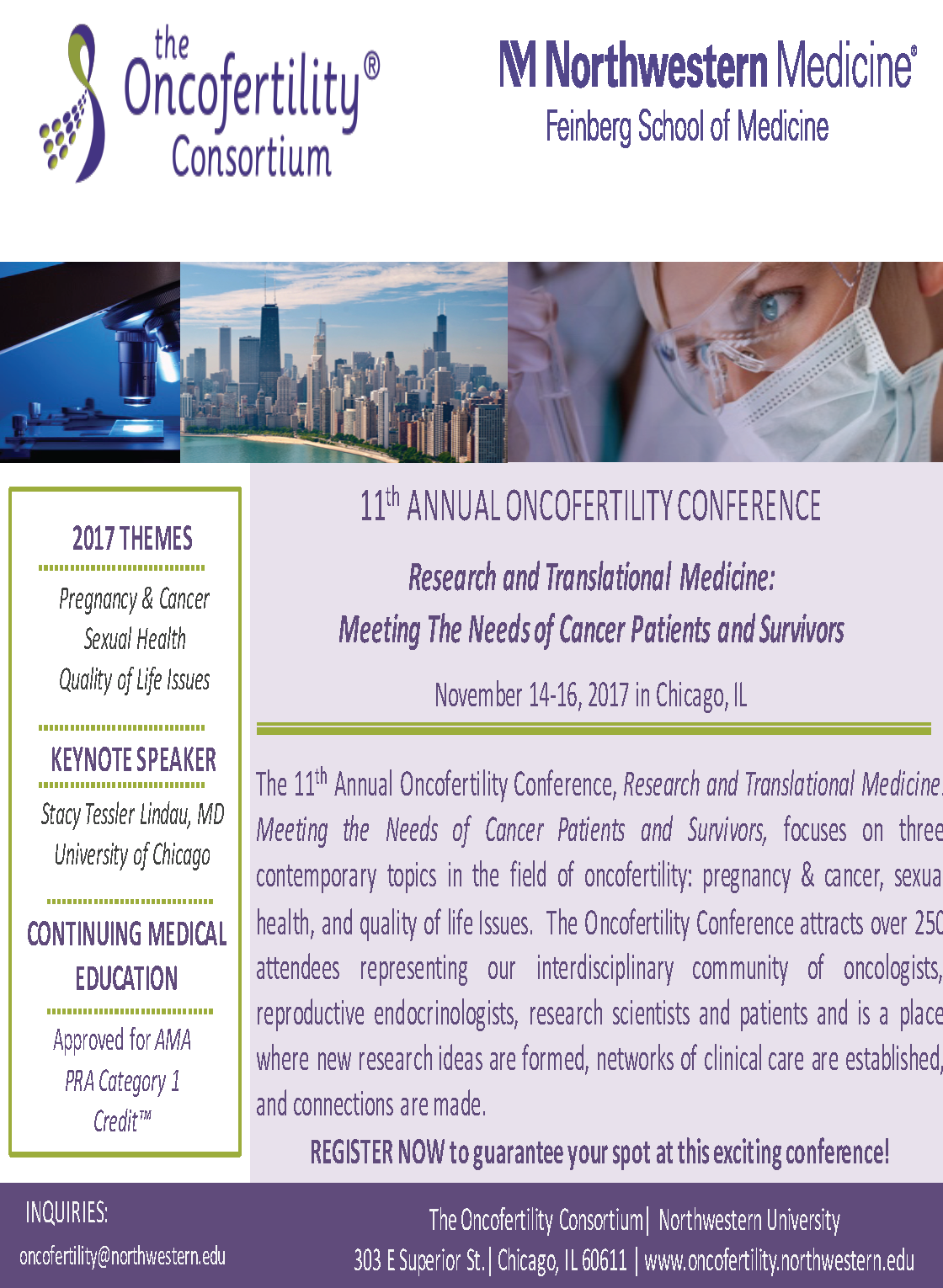 Annual Oncofertility Conference Registration