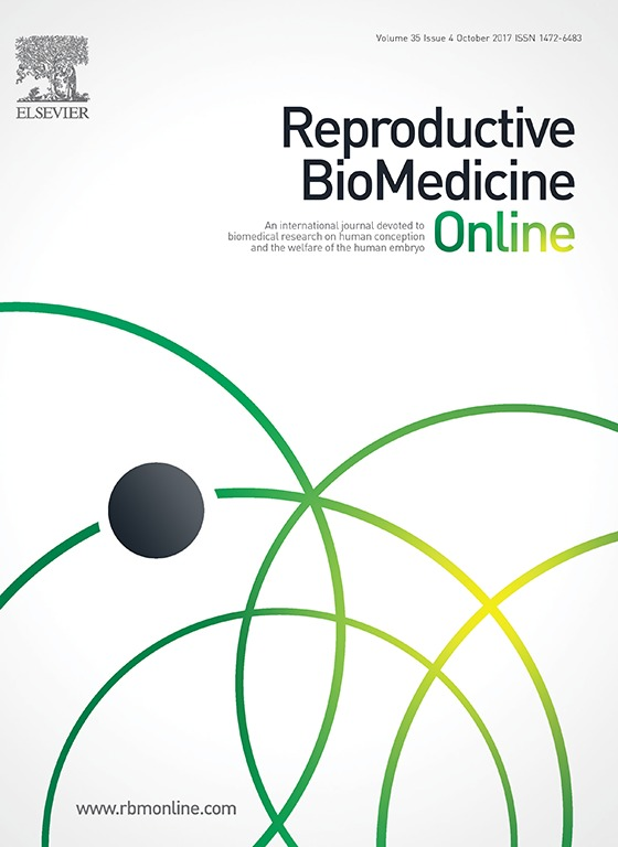 Reproductive BioMedicine Online: October 2017 (Volume 35, Issue 4)