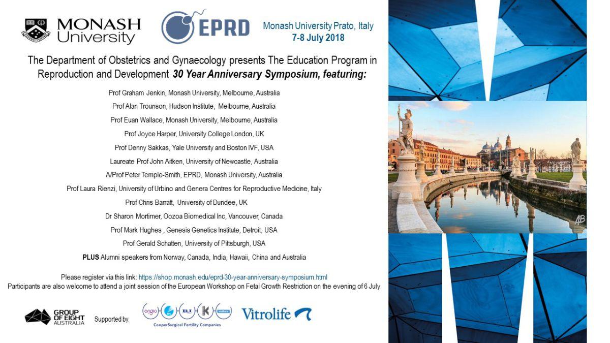 30 years EPRD-Monash University