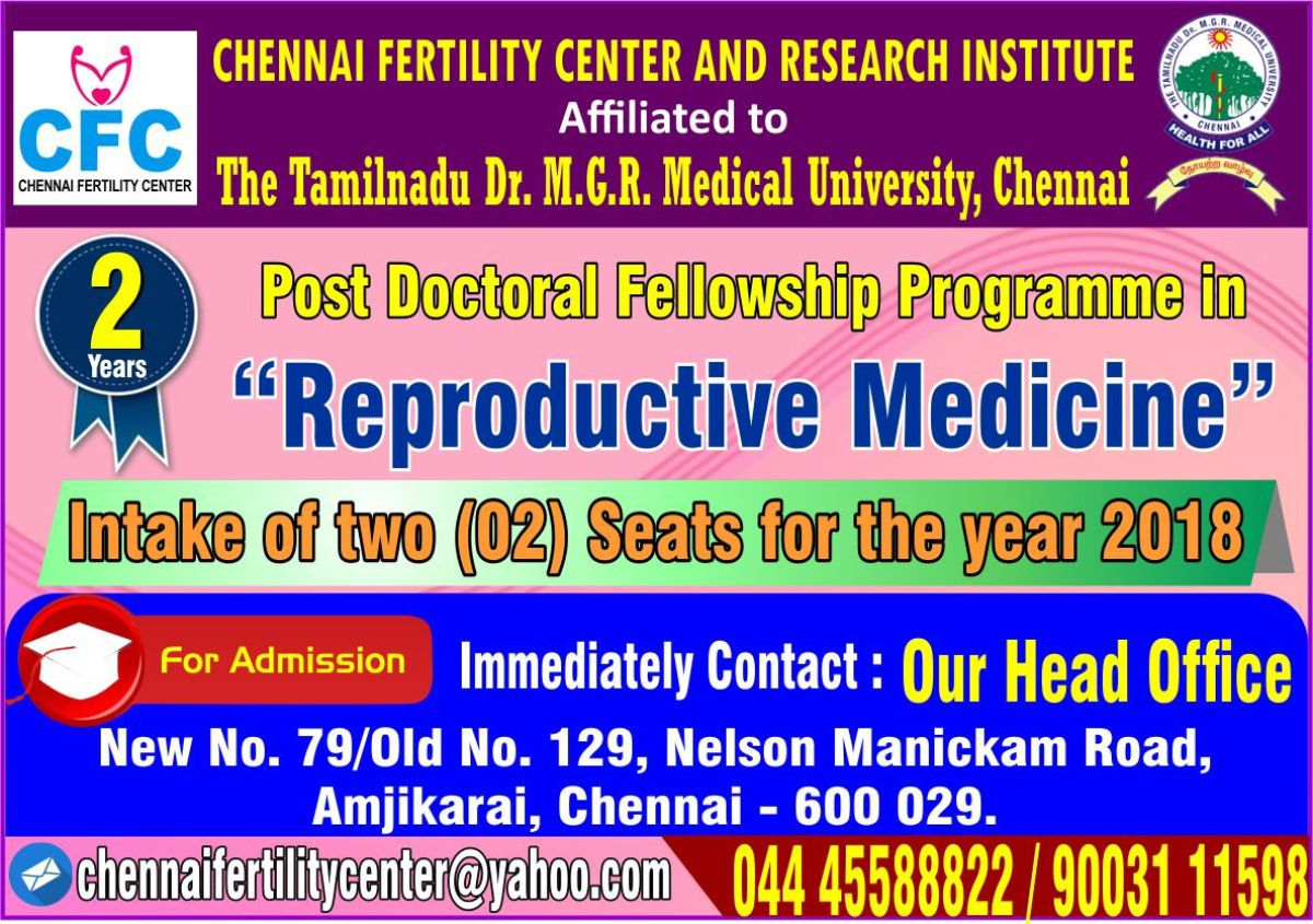 Post- Doctoral Fellowship Program