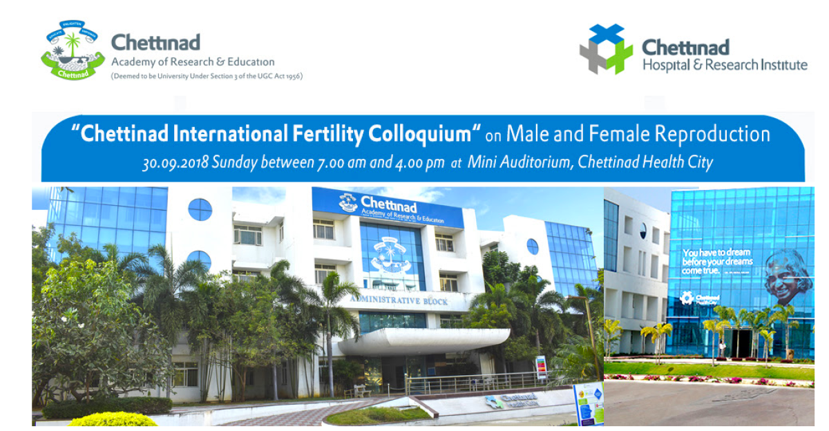 Chettinad International Fertility Colloquium 2018