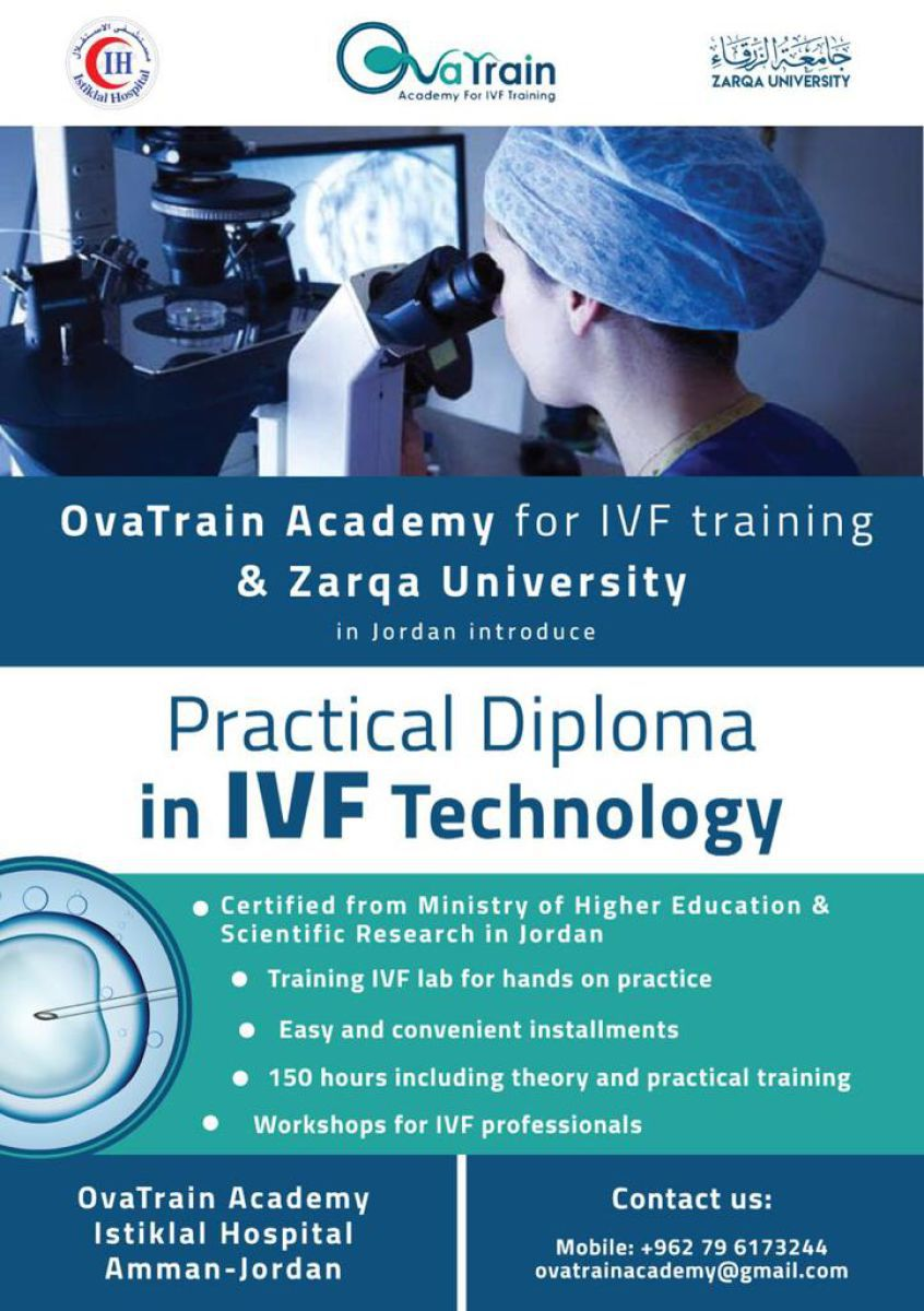 IVF training course in Jordan