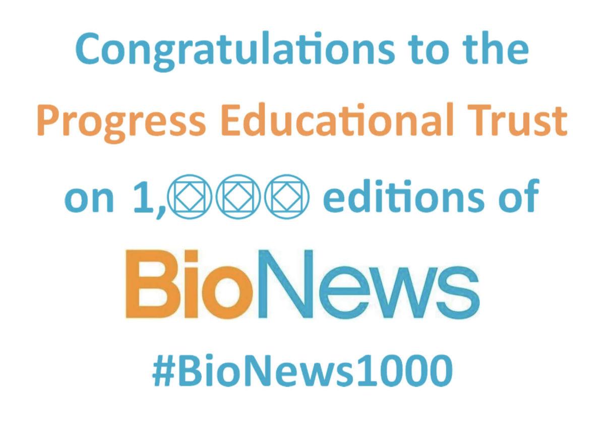 #BioNews1000