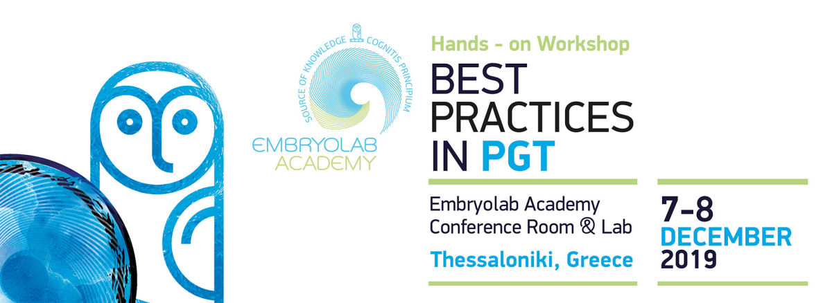 Embryolab Academy Best Practices in PGT