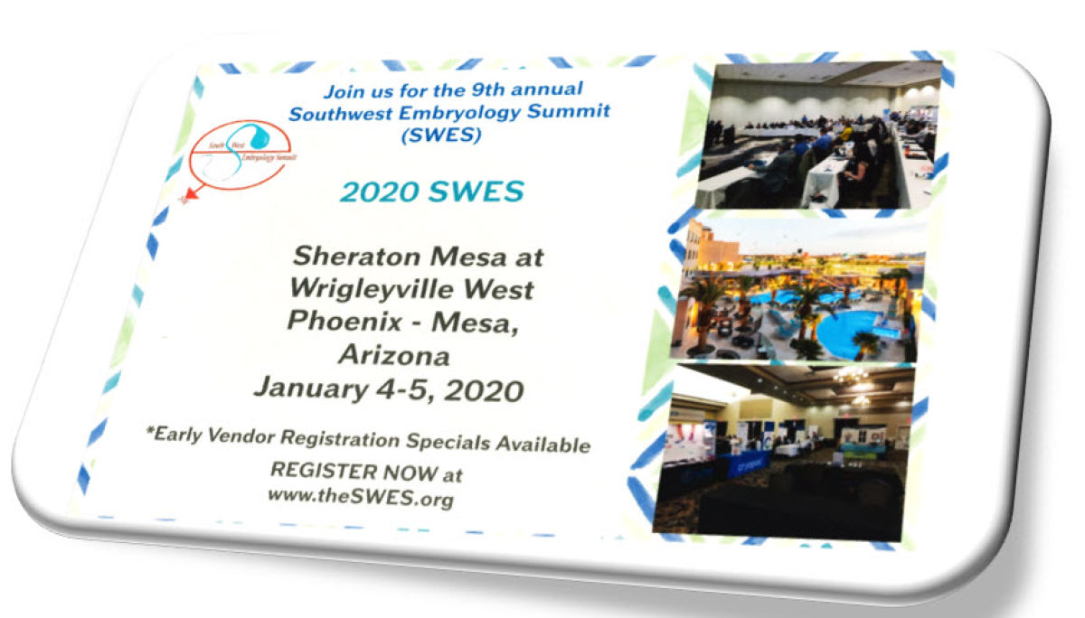2020 Southwest Embryology Summit (SWES)