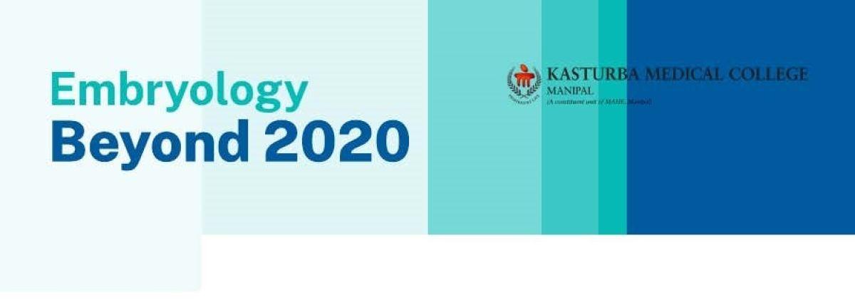 Embryology beyond 2020