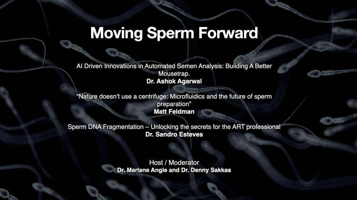 Online Session 11:Moving Sperm Forward