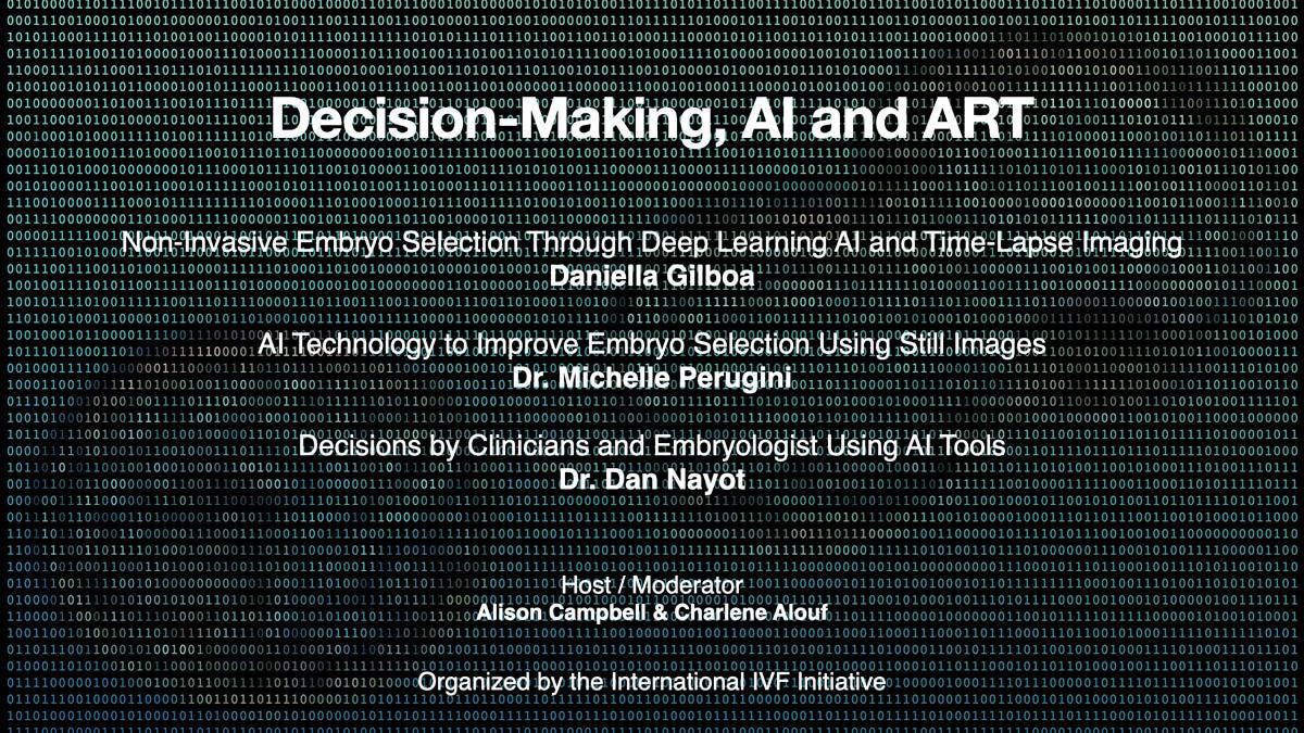 i3 Session 15: Decision-Making, AI and ART