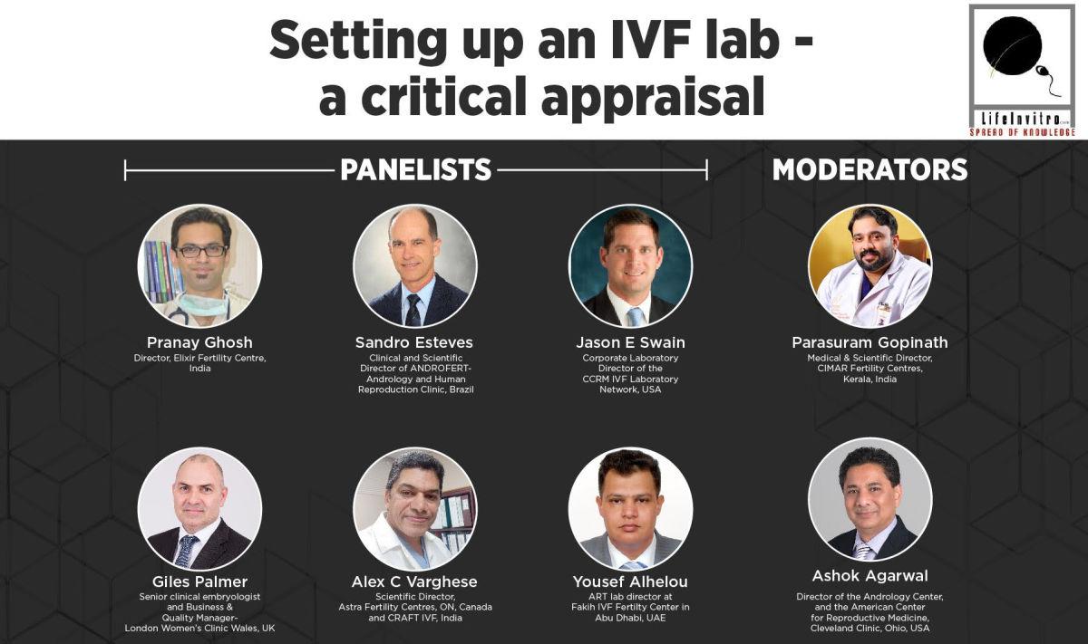 "Webinar on ""Setting up an IVF lab - a critical appraisal"""