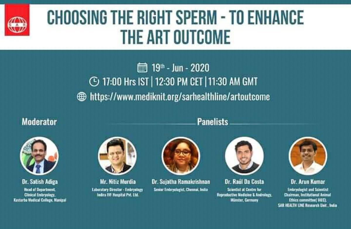 Webinar on Choosing the right sperm