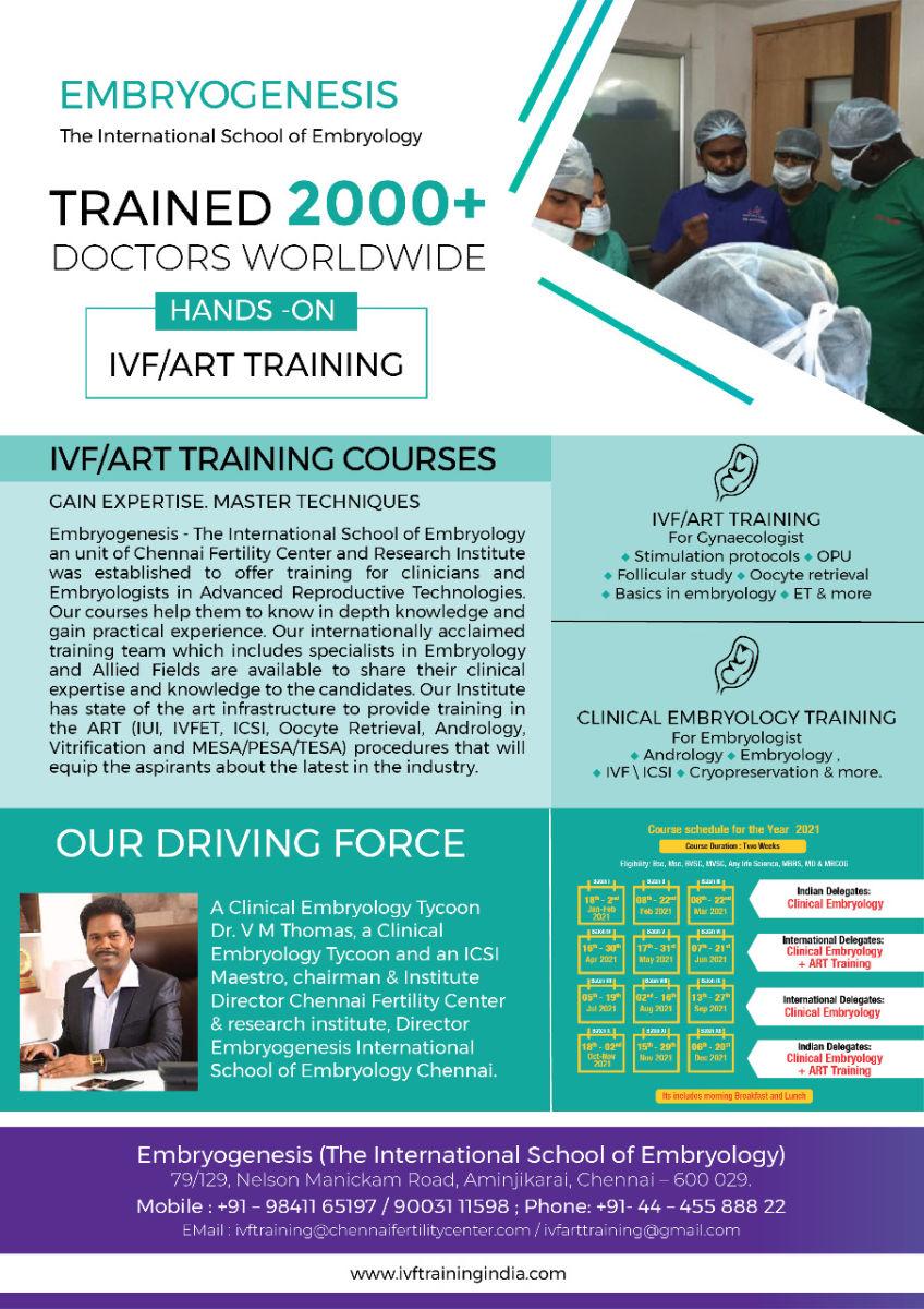 IVF & Embryology training program