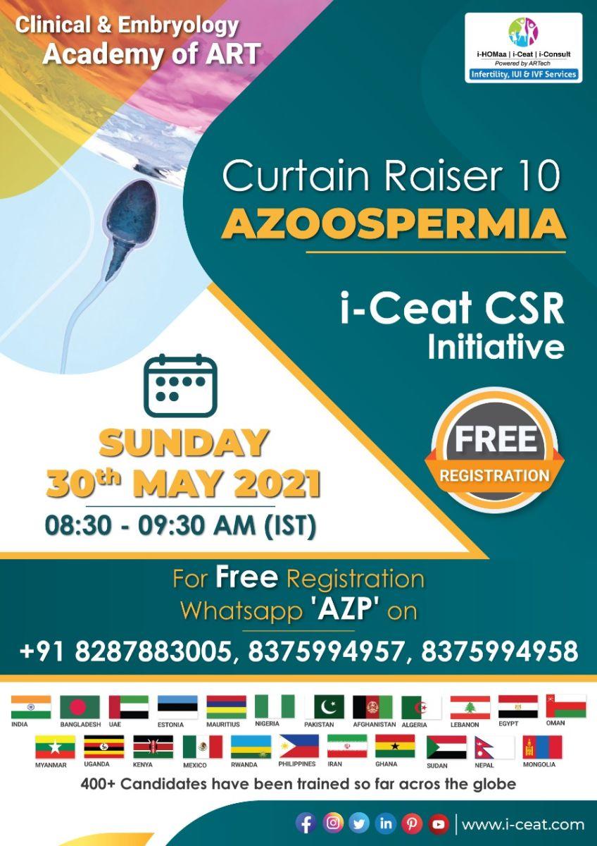 """Join special curtain raiser class """"Azoospermia"""""""