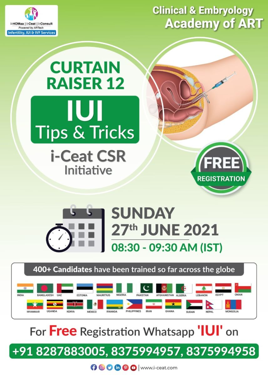 "Join special curtain raiser 12 class ""IUI Tips & Tricks"""