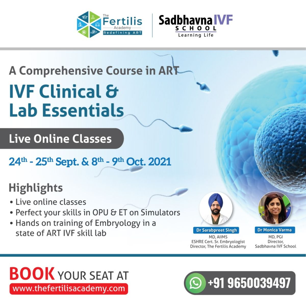 IVF Clinical and Lab Essentials: A Comprehensive Course