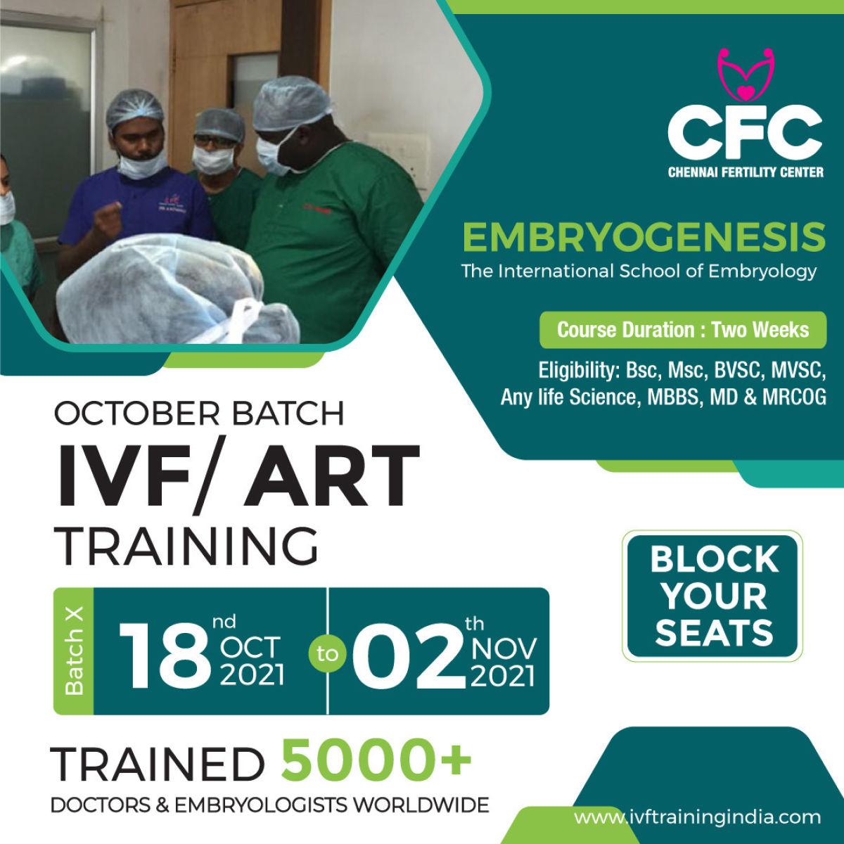 ART & Embryology training program
