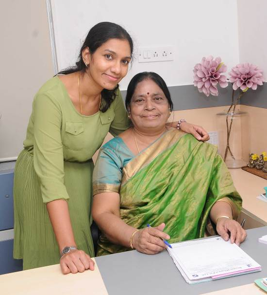 Dr Samundi Sankari and Dr Divya Sivaraman