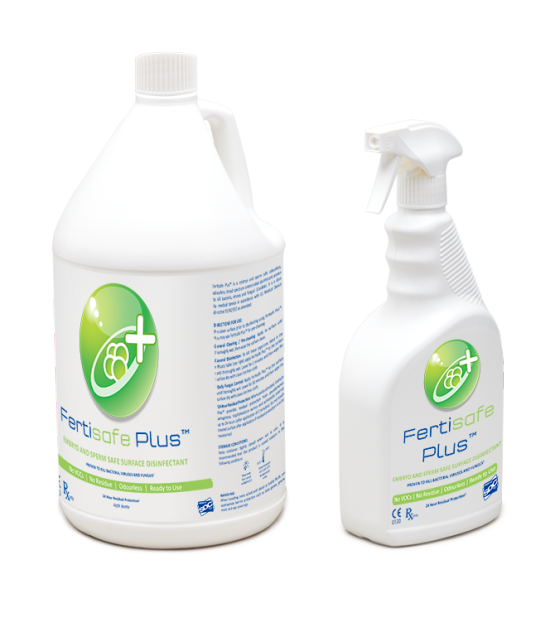 Fertisafe Plus™ Spray and Refill Bottle