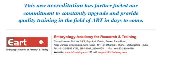 hands on IVF training to thousands of Gynaecologist and Embryologist