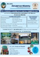 FELLOWSHIP COURSE IN CLINICAL EMBRYOLOGY