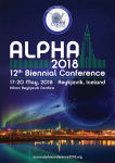 Save The Date - Alpha Conference 2018